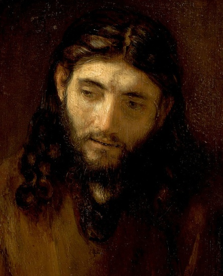The Face of Jesus - Rembrandt -