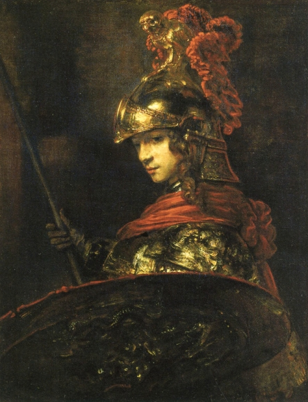 Man in Armor -Rembrandt 1655-
