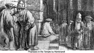 -Pharisees in the Temple- Rembrandt