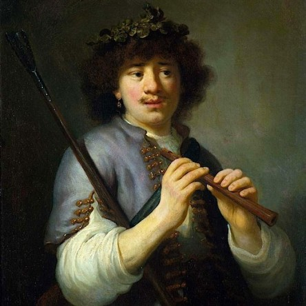 Rembrand as Shepherd -1636-