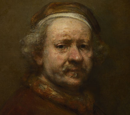 Self-Portrait ~Rembrandt~